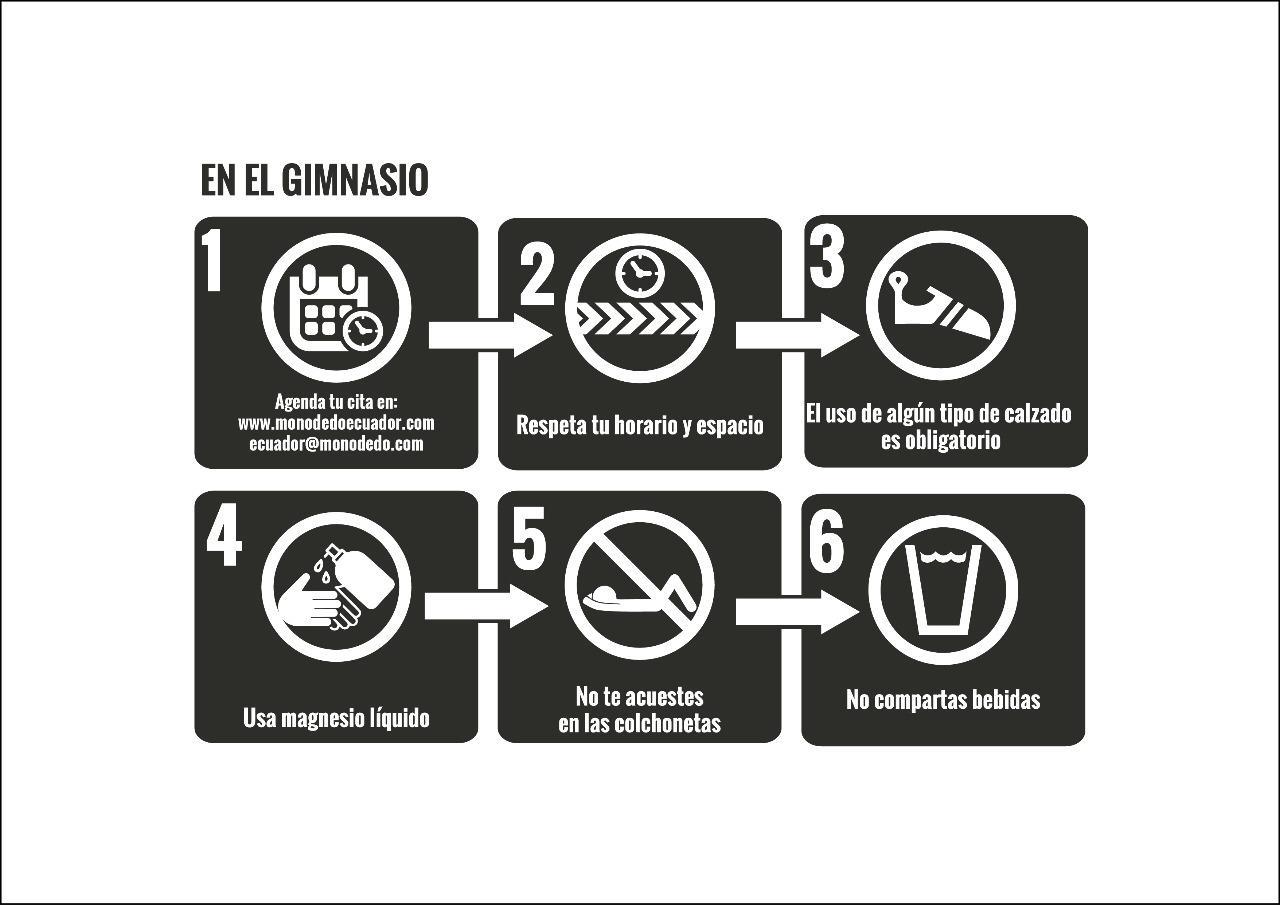 Medidas de bioseguridad en el gimnasio